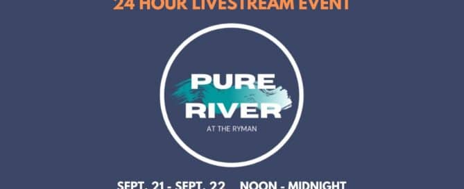 Pure River banner