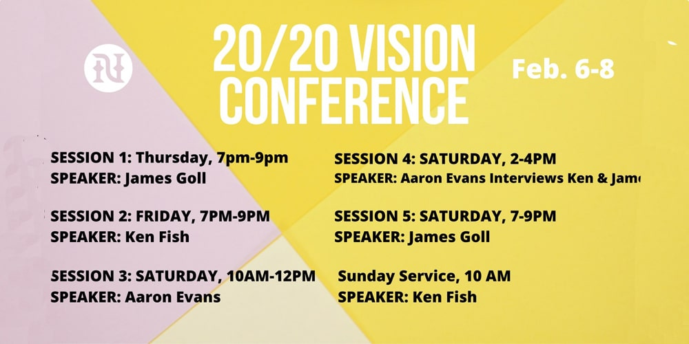 20/20 Vision Conference