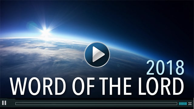 2018 - Word of the Lord