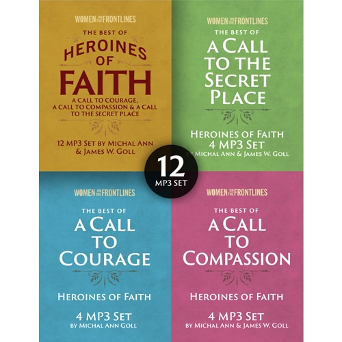 The Best of Heroines of Faith 12 Message Set