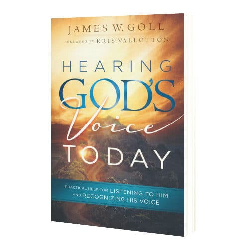hearing God's voice today book