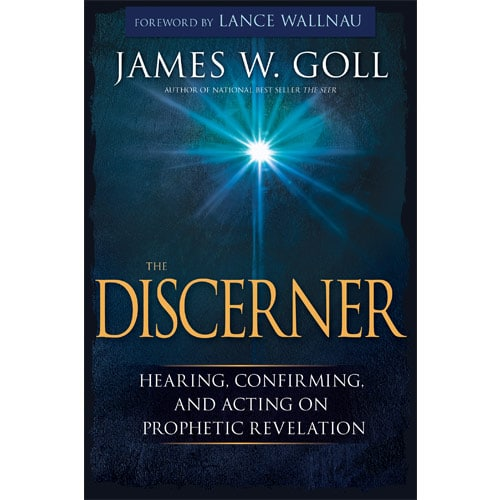 The Discerner - Book or Audiobook - By James W  Goll