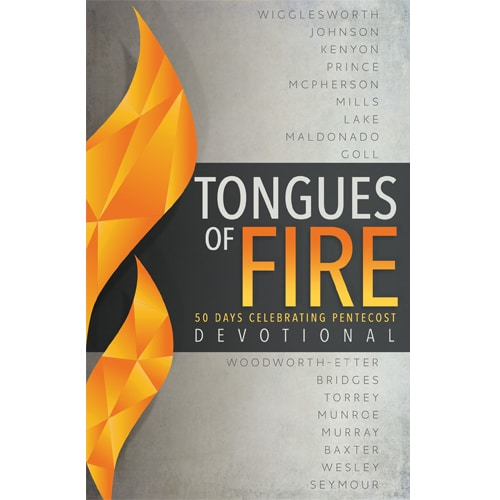 Tongues of Fire Devotional Book