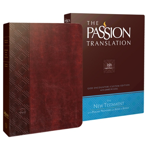 The Passion Translation Bible with slipcover