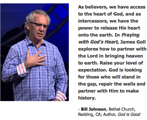 Bill Johnson quote