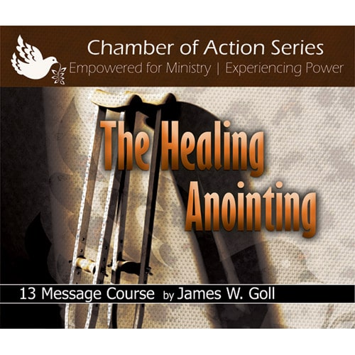 The Healing Anointing Class