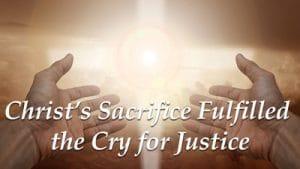 Christ's Sacrifice