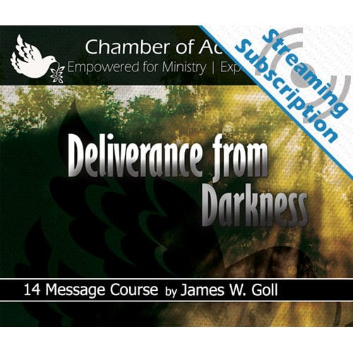 Deliverance from Darkness Class Monthly Streaming