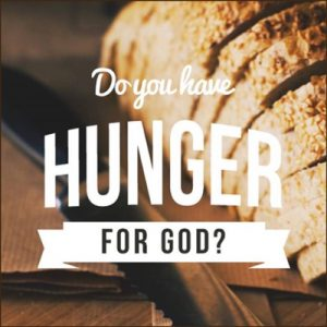 Do you have hunger?