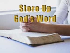 Store God's Word