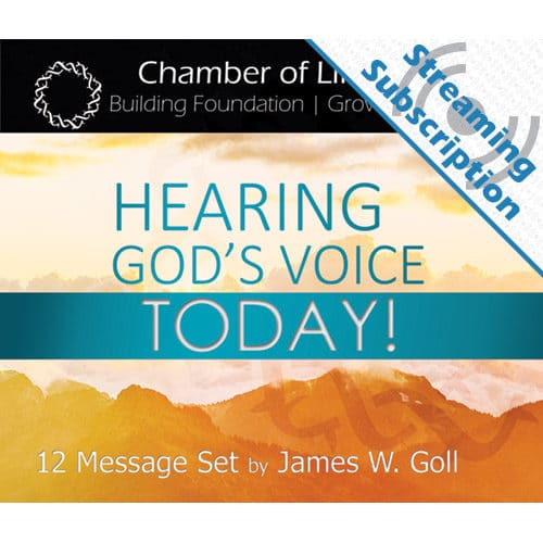 Hearing God's Voice Today Class Monthly Streaming