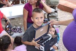 Shoes for Soles – Blood 'n Fire Ministries – San Antonio, TX