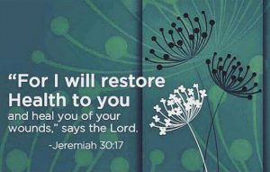 I Will Restore Health