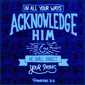 In all Your Ways