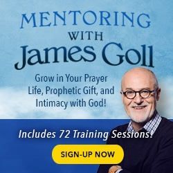 Mentoring with James Goll ad
