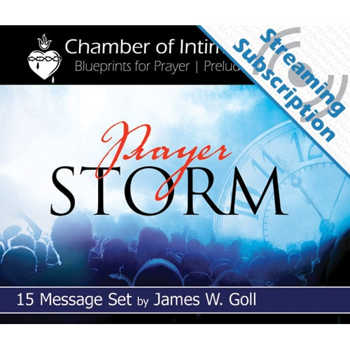 Prayer Storm Class Monthly Streaming