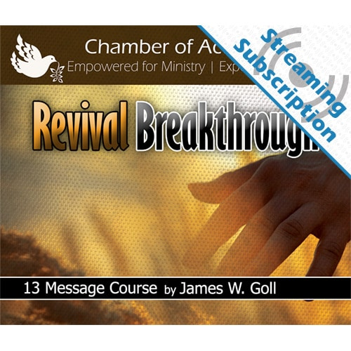 Revival Breakthrough Class Monthly Streaming