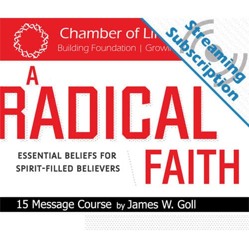 a radical faith class monthly streaming