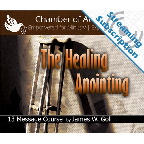 The Healing Anointing Class Monthly Streaming