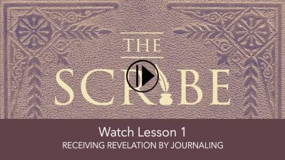 Receiving Revelation by Journaling