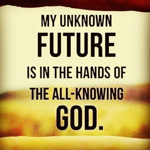 My Future is in God
