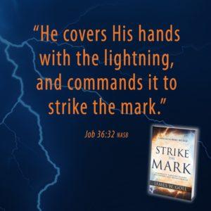 lightning strikes the mark