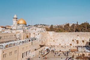 Jerusalem center of God's heart