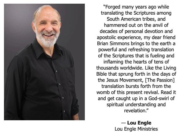 Lou Engle endorsement
